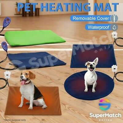 Waterproof Electric Dog Pet Heat Heating Heated Pad Mat Thermal Protection Bed