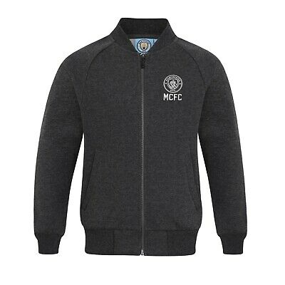 Manchester City FC officiel - Veste de baseball style université - garçon