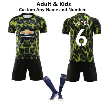 Kids' Clothes, Shoes & Accs. New Kids Adult Football Full Kit Youth Jersey Strips Boys Soccer Training Outfit