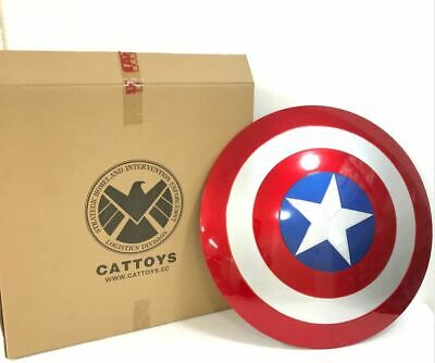 Cat toys life size 1:1 Avengers Captain America ABS Shield Costume Cosplay