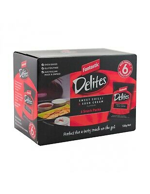 Fantastic Delites Sour Cream Sweet Chilli 120g