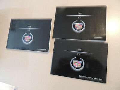 Cadillac BLS 2008 rider`s owner`s manual  Betriebsanleitung