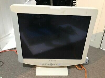 "Sony  Monitor.    LMD-2140MD LCD 21""     Medical Surgical Monitor with stand"