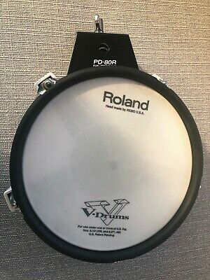 Roland PD-80R Dual Trigger Mesh Electronic Snare / Tom Drum Trigger Pad