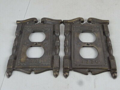 1968  1776 American Tack & Hardware Outlet Plate Covers