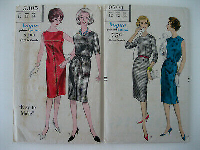 Vintage 1970s Retro Sewing Pattern Lot Of 7 Maternity Miss Size 12