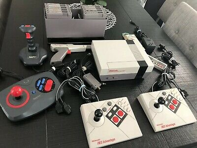 Nintendo NES Collection Lot - 10 Games, System & Accessories . RARE titles!
