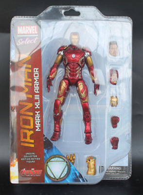 Iron Man Mk43 Mark Xliii Armor Marvel Select Avengers Collection Action Figure