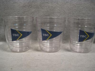 3 Tervis Tumblers 12 oz. The Beach Club Burgee Ensign Centerville MA TBC