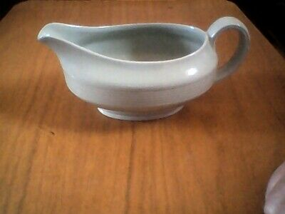 Good Condition Woods Ware 'Beryl' Green Gravy Sauce Jug Boat 1960s