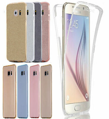 Luxury Ultra Slim Shockproof Silicone Clear Case Cover for Samsung Galaxy S8