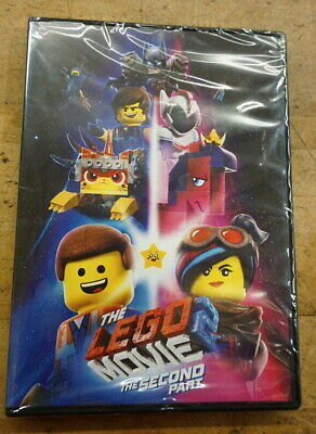 The Lego Movie 2: The Second Part (DVD 2019)  NEW FREE SHIPPING
