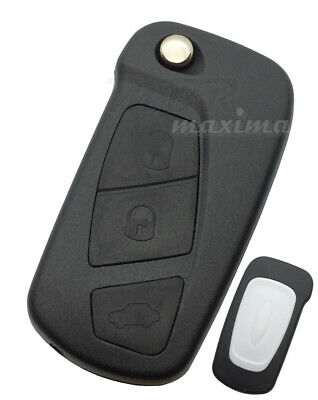 3 Button Remote Key Fob Case For Ford KA 2008 - 2016 FOR20