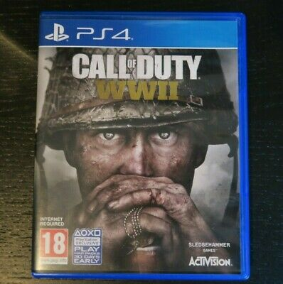 Call of Duty WW2 - PS4 *MINT CONDITION*