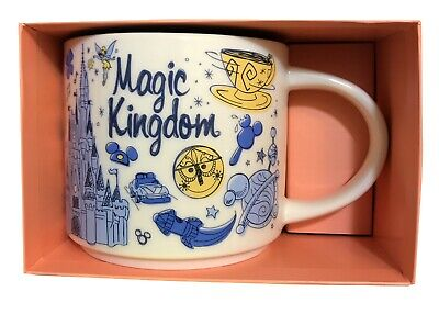 NEW Starbucks Magic Kingdom 'Been There' Series Mug Disney Parks 14 oz