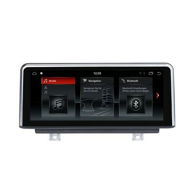 """BMW 3er F30 F31 F34 F35 10.25"""" Touchscreen Android 8.1 Navi USB Anti-Reflection"""