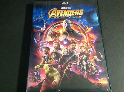 Marvel - The Avengers Infinity War ( Dvd  )