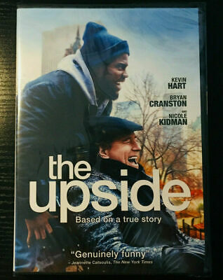 The Upside (DVD, 2019) BRAND NEW - FREE FAST SHIPPING!!!
