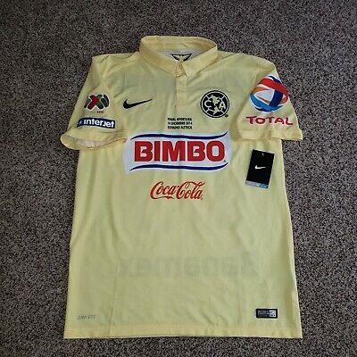 size 40 807b5 ae666 NIKE CLUB AMERICA Aguilas 95 Anniversary Mexico Jersey ...