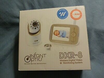 New Infant Optics DXR-8 Video Baby Monitor with Interchangeable Optical Lens