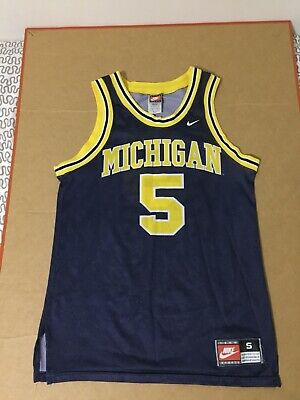 c14c2a29f29 Michigan Jalen Rose jersey Made in USA Nike orange tag TEAM Wolverines ncaa  vtg