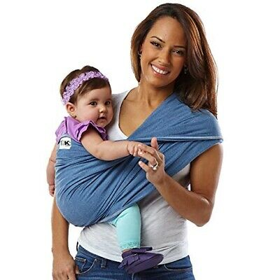 Baby K'Tan Original Baby Wrap Carrier Infant & Child Sling Newborn to 35 lbs - L