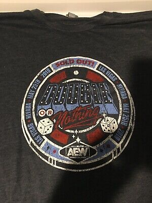 AEW All Elite Wrestling Double Or Nothing Shirt  Las Vegas 3XL Arena Exclusive