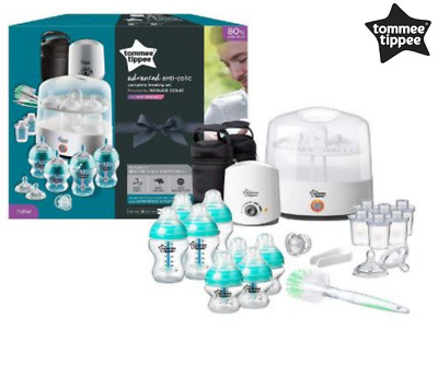 All in one Complete Feeding Set Tommee Tippee Closer to Nature White Pack 0 m+