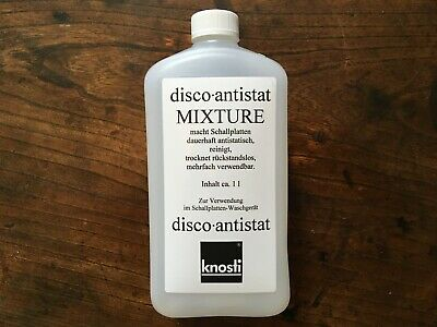 Knosti disco-antistat mixture Record Cleaning Fluid 1L