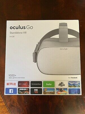 Oculus Go - 64GB Stand-Alone Virtual Reality Headset Lightly Used