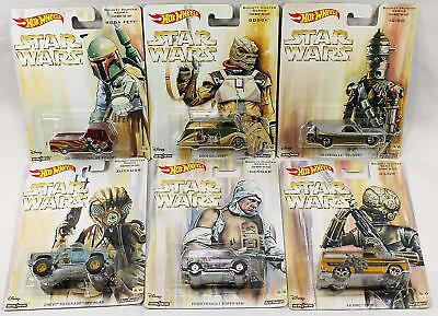 Star Wars/Hot Wheels DIE-CAST VEHICLES Bounty Hunter Series POP Boba Fett IG-88