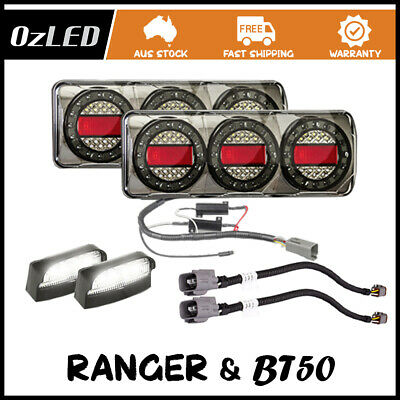 MaxiLamp Plug & Play + Ford Ranger/Madza BT50 Patch Leads Plug&Play LED 4WD Tail
