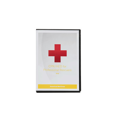 American Red Cross CPR/AED for Professional Rescuers DVD