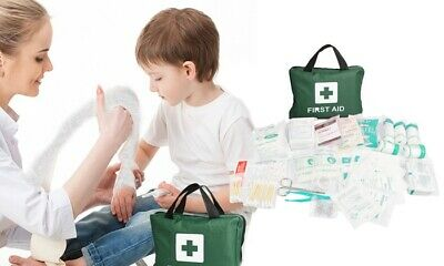 210 PCS Emergency First Aid Kit Medical Travel Set Workplace Family Safety AU