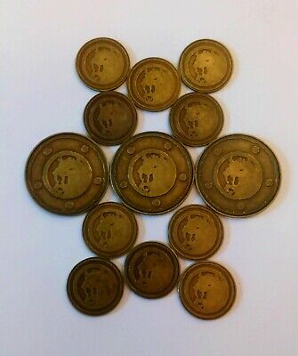 Lion Honor Tokens (Acrylic) - L5R - Promo - Legends of the Five Rings - LCG