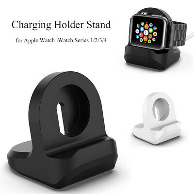 Silicone Charging Station Stand Dock for Apple Watch iWatch Series 1/2/3/4