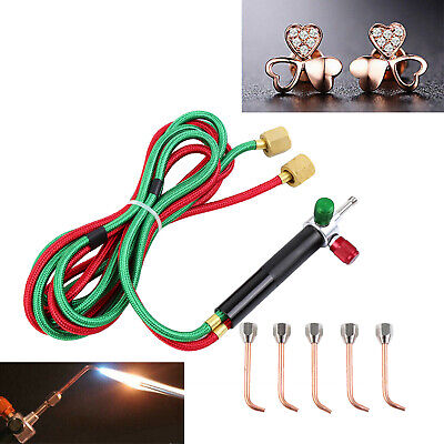 Mini Gas Little Torch Copper Welding Soldering kit w/ 5 tips Jewelry Jewelers