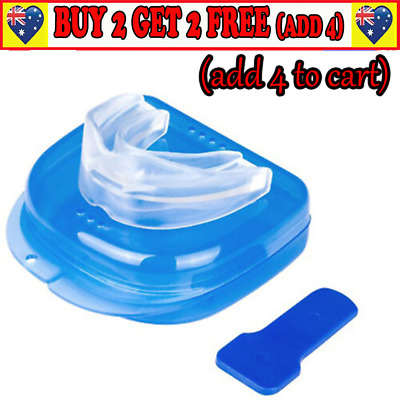Anti Snore Snoring Mouth Guard Device Sleep Aid Stop Apnoea Stop Snoring Au Gn