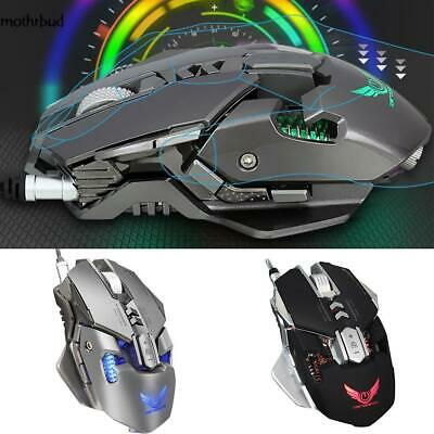 Durable Anti-Skid Wheel Gaming Mouse Illuminated Wired Mouse M5BD 04