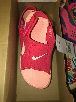 NEW NIKE BIG Kids Youth Sunray Adjust 4 (GSPS) Sandals Size