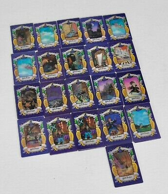 Harry Potter 3D Trading Picture Card Chocolate Frog 2001. - 33 Cards