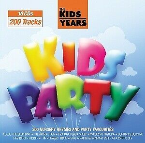 The Kids Years - Kids Party - C.R.S.PLAYERS [10x CD]