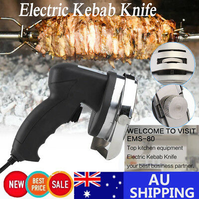 Electric Kebab Knife Meat Slicing Tool Commercial Kebab Wheel Blade New Cutter
