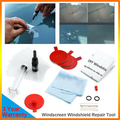 Windscreen Windshield Repair Tool DIY Car Kit Wind Glass For Chip & Crack PROST