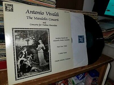 ANTONIO VIVALDI CONCERTI a 5, a 4, and a 3 LP Mint- MHS 7099 BK