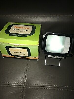 Vintage Halina Paramount Viewer In Box