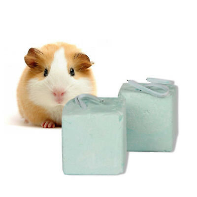 Small Animal Pet Hamster Rabbit Rat Mineral Chew Cube Teeth Grinding Stone Toy