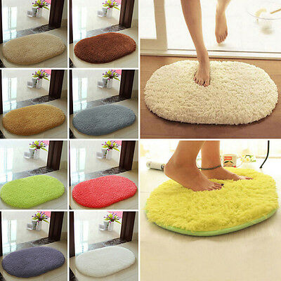 1x Soft Absorbent Memory Foam Bedroom Bath Bathroom Floor Shower Door Mat
