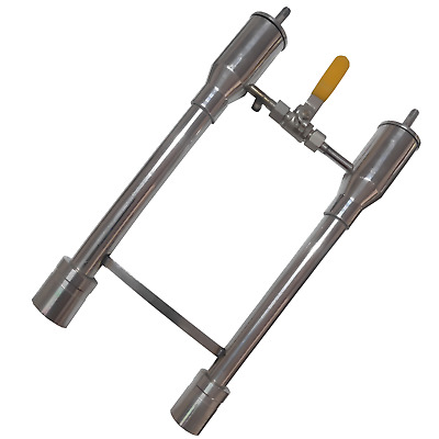 Propane Forge Double Burner (With Valve)