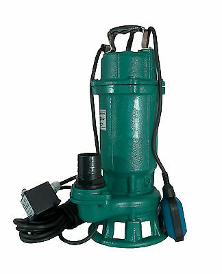 IBO Heavy Duty1.1kW 50ft 18000Lph Submersible Sewage Dirty Water Pump W Shredder